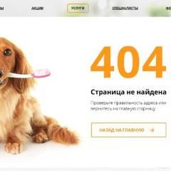 Настройка дизайнерской «ошибки 404» говорит о глубокой проработке ресурса и позволяет добавить креатива.